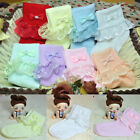 Внешний вид - Fashion Kids Girls Lace Bow Soft Cotton Breathable Socks Toddlers Tights Candy