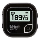 NEW GolfBuddy Voice 2 Golf GPS Audio Distance Range Finder - Choose Color!