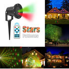 Christmas Laser Projector Light 20 Patterns Xmas Garden Landscape Stage Lighting