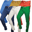Mens Denim Jeans New Stretch Skinny All Waist Pants Casual Slim Fit Trousers