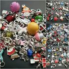 10 or 20 kid's children's Clip on or European dangle charms enamel glass acrylic