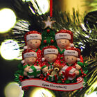 Personalized Christmas Tree Ornaments Family of 2 3 4 5 6 Holiday Gift Ornament