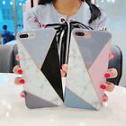 Hot Marble Pattern Shakeproof Stripe Matte Soft TPU Phone Case Back Cover Skin
