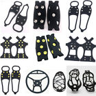 Multi Anti-Slip Shoes Cover Grips Snow Ice Climbing Equipment Grippers Crampons