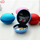 Unisex Coin Purse Lady Round Zipper Tin Coins Bag Key Wallet Pouch Purse Clutch