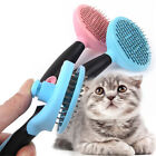 Pet Dog Cat Grooming Self Cleaning Slicker Brush Comb Shedding Tool For Pet Hair