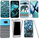 360° shockproof case for samsung & other mobiles -aesthetic motif
