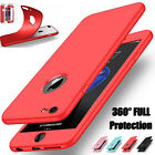 For iPhone 7 6s Plus Case Ultra Thin Hybrid 360 Full Protection Silicone Cover