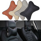 1pc Car Seat Headrest Pad Memory Foam Leather Head Neck Rest Cushion Pillow US