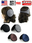 Mens Womens Soft Shell Ear Muffs Fleece Earwarmer Winter warmers Behind the Head