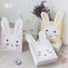 6X New Easter Rabbit Paper Party Loot Bags Handles - Birthday Gift Bags 18x21cm