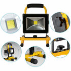 10w Outdoor Portable White LED Work Light Rechargeable Flood Light Fishing Lamp