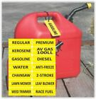 Lot of 20 Gas Can Tags