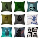 Star Wars Linen Cotton Fashion Throw Pillow Case Cushion Cover Home Sofa Decor $3.92 CAD