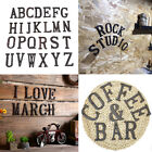 A-Z Alphabet Letters Vintage Iron Wall Door Sign Address Garden Signs Decoration