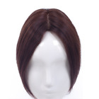 100% Human Hair Topper Clip in Hairpiece Cover Loss/Thin Hair Replacement