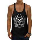 Western Cowboy Skull Guns Men Gym Tank Top S-2xl New | Wellcoda