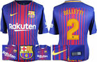 17 / 18 - NIKE ; BARCELONA HOME SHIRT SS / BELLETTI 2 = ADULTS