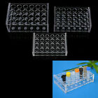 Внешний вид - Acrylic 24 Holes Test Tube Rack Storage Holder for laboratory Testing 1.5/5/7ml