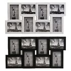 Large Decorative Multi Photo 8 Picture Frame Collage Aperture Wall Mounted Home