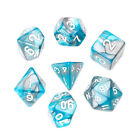 7pcs/Set Dice Acrylic Polyhedral For TRPG Board Game Dungeons And Dragons D4-D20