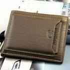 Luxury High Quality Mens Leather Bifold Wallet Credit Card ID Holder Purse