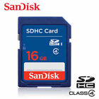 SanDisk SD 8GB 16GB 32GB CLASS 4  SDHC Flash Memory Card SD UHS-I for Camera