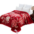 Pure Australian wool blanket cashmere blanket Retro bed Upscale sheet quilt King