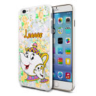 DISNEY PERSONALISED MRS POTTS AND CHIP CUTE Case Cover For Mobiles Design 4