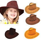party hats kids - Halloween Style Western Cowgirl Cowboy Hat For Kid Boys Gilrs Party Costumes EVz