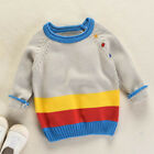 Toddler Girls Boys Kids Baby Sweater Knit Pullovers Warm Coat Outerwear Clothes