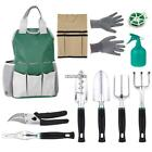 10Piece Garden Tools Set,Gardening Tools Kit, Hand Tools Bag Set Gift 01