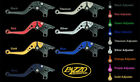 TRIUMPH 2006-15 BONNEVILLE SE T100 PAZZO RACING LEVERS -  ALL COLORS / LENGTHS $149.99 USD