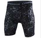 Fashion Sports Apparel Skin Tights Compression Base Men's Running Gym Shorts New