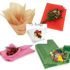 FLORAL WAXED Tissue Paper Bouquet Wrapping 24'x36' X-Large Sheets YOUR CHOICE!