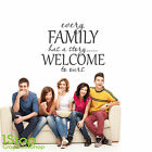 EVERY FAMILY HAS A STORY WALL STICKER - BEDROOM LOUNGE WALL ART DECAL X417