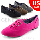Kali Womens Casual Lace Up Canvas Oxford Shoes Notice Adult 6 7 8 9 10 11