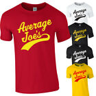 AVERAGE JOES Gym Dodgeball Movie Fancy Dress Funny Tshirt Tee Top Adults Kids