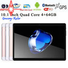 10.1'' Game Tablet PC Android 4.4 Octa Core 4+64GB Dual SIM HD Wifi 3G Phablet