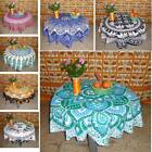 4Seater Round Table Cover Mandala Tablecloth Cover Wedding/Dessert Dinning Table