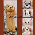 "NEW PLUSH DOG"" Pencil Bag ,Pencil Case ,Cosmetic Coin Bags Holder Travel Makeup"