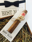 'Will you be?' or 'Thank you for being ...' Best Man/Usher Wedding cigar holder