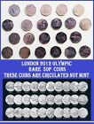 Choose LONDON 2012 OLYMPIC Games Coin Hunt Rare Circulated 50p Coins Fifty Pence