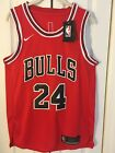 Mens Chicago Bulls Lauri Markkanen Rookie NBA Swingman Red Basketball Jersey