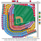 4 Chicago Cubs Vs Milwaukee Brewers Tickets 4/26 - ROW 1
