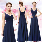 Ever-pretty Long Navy Blue Lace Formal Dresses Evening Party Prom Gowns 08877