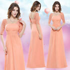 US Long Women Lace Prom Evening Party Gown Bridesmaid Wedding Dresses 08038