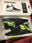 Mens Nike Zoom Witness Lebron Sneakers New Black Volt Camo 852439 017