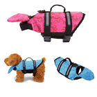 1x Dog Swimming Life Jacket Clothes Float Vest Reflective Water Safe Preserver