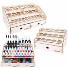 OPHIR Wooden Paint Rack Ink Storage with Cabinet Organizer with Acrylic Pigment